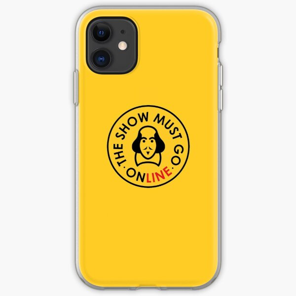 The Show Must Go Online iPhone Soft Case