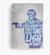 Pulp Fiction - Jules: They Speak English in What? Canvas Print