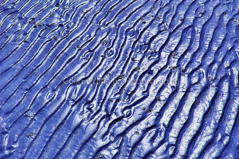 Blue Ripples - Goring By Sea  by Colin  Williams Photography