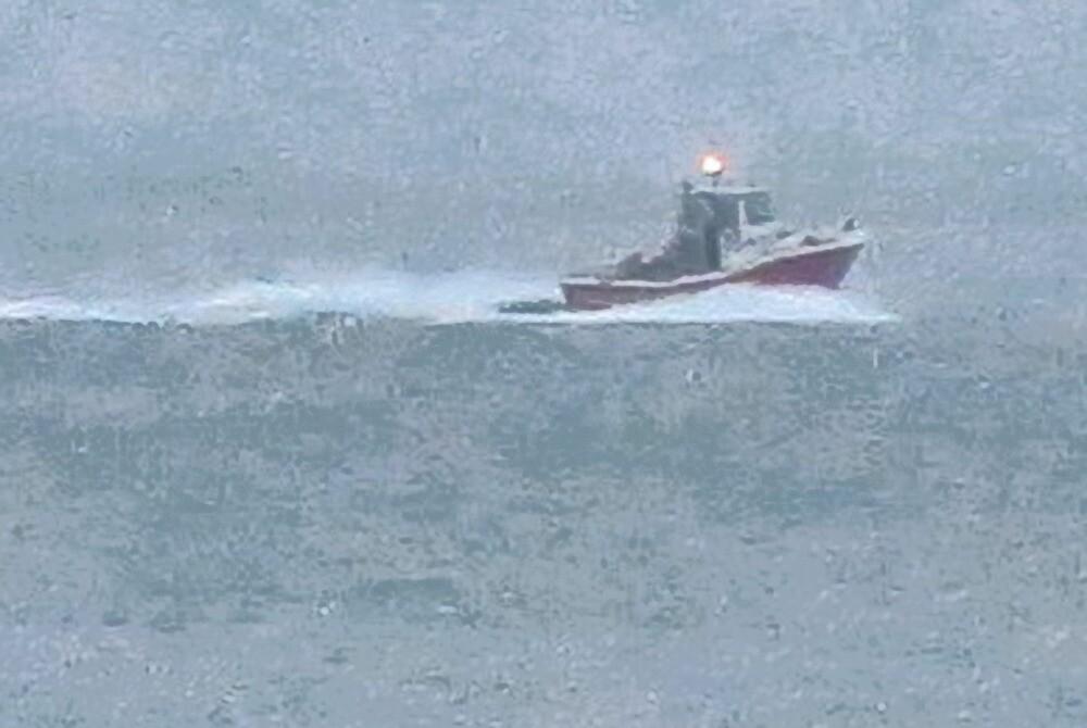 Fishing Boat in the Fog by David Denny