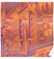 chinatown mosaic Poster
