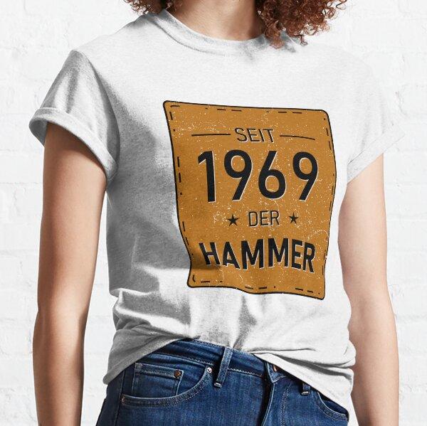Lustiges Damen T-Shirt Geburtstag Hammer Jahrgang 1962 Shirt Geschenk Frauen