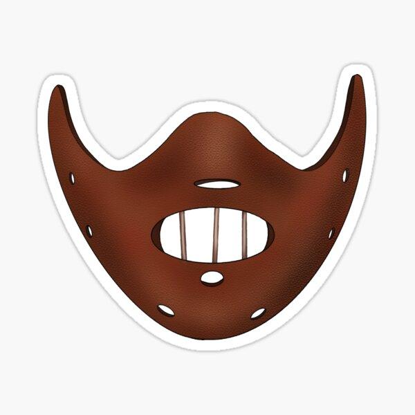 Leather Mask Sticker