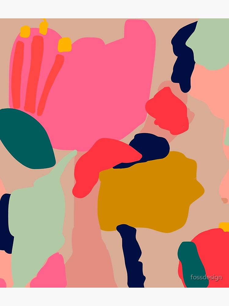 Sprinkles // Bright Abstract Pattern by fossdesign