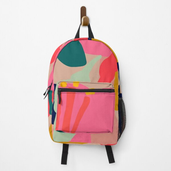 Sprinkles // Bright Abstract Pattern Backpack