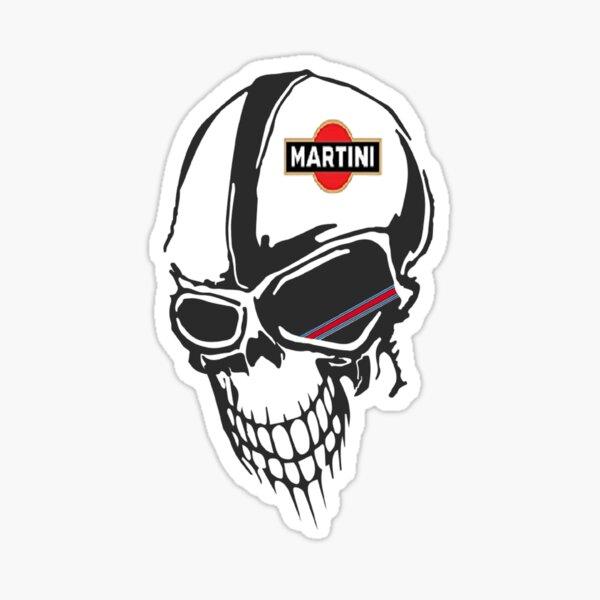 Skull martini racing Sticker
