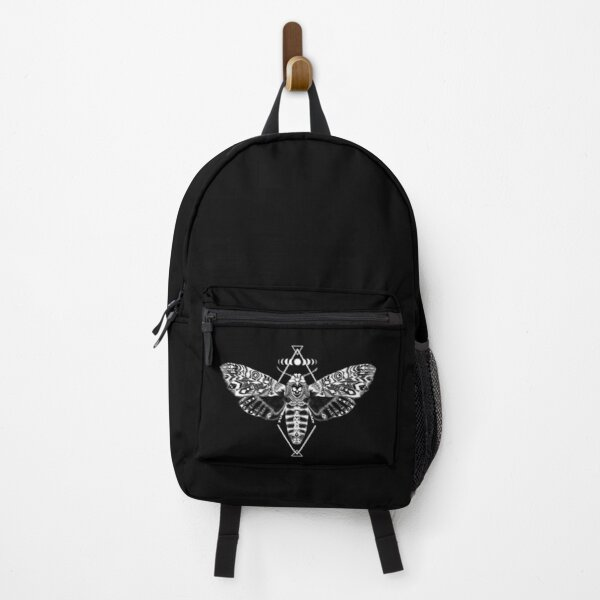 Skull Moth • Goth Backpack