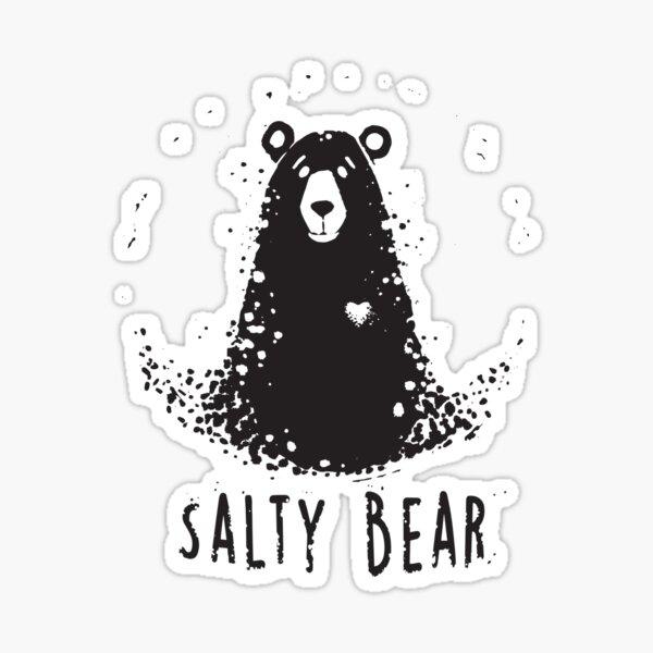 Salty Bear Sticker