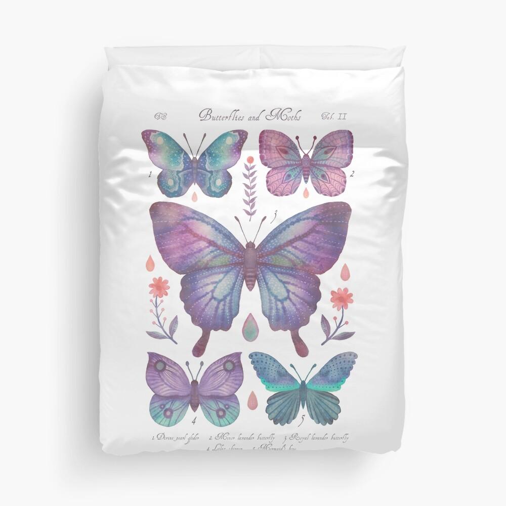 Butterflies and Moths Tab.II Duvet Cover