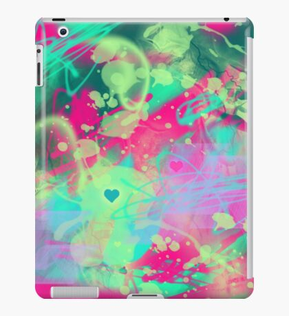 Dispersed love iPad Case/Skin