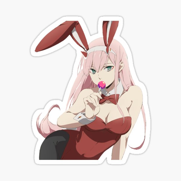 Zero Two Bunny girl Pegatina