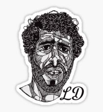 Lil Dicky - Lines Initialed Sticker