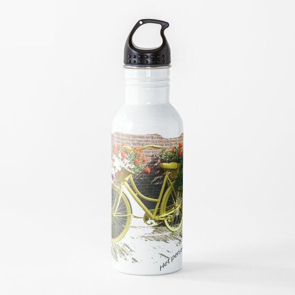 Biking in The Netherlands Water Bottle