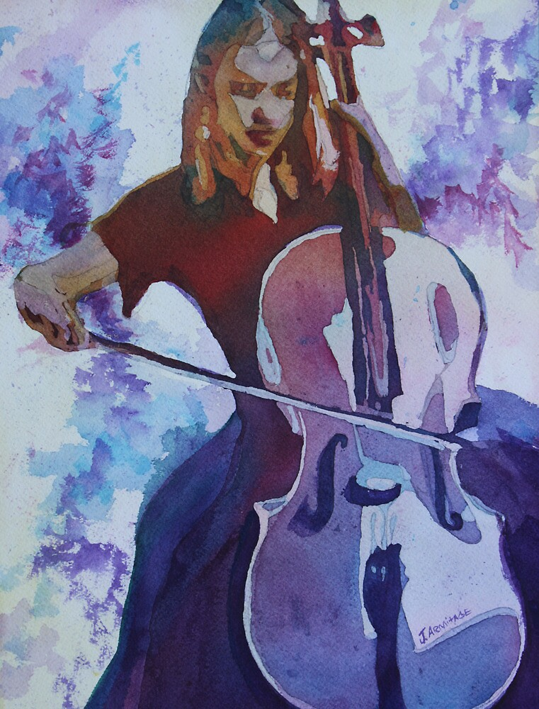 Singing the Cello by JennyArmitage