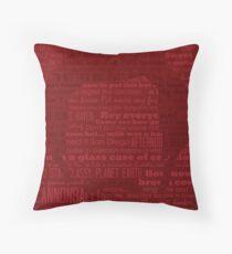 Ron Poster Series-The Legend Throw Pillow