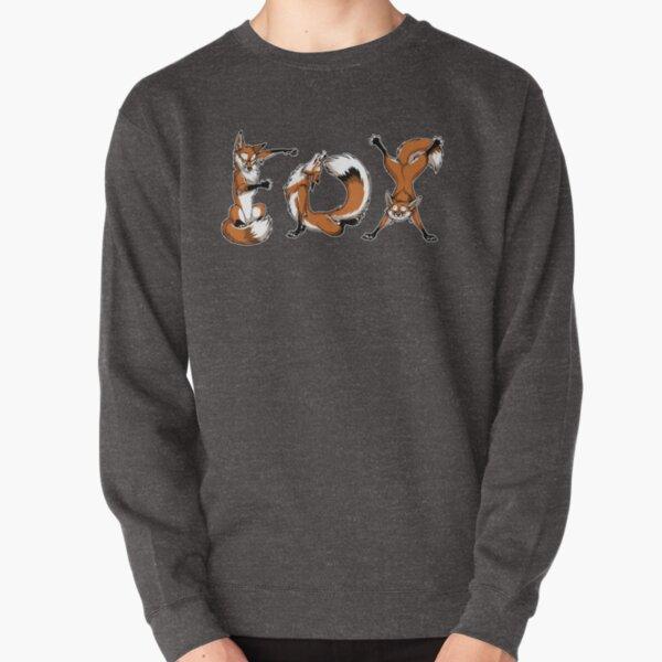 YOGA Foxes Pullover Sweatshirt