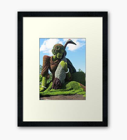 Welcome All! Framed Print