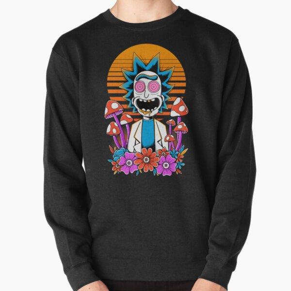 Rick Sanchez Trippy Scientist Pullover Sweatshirt