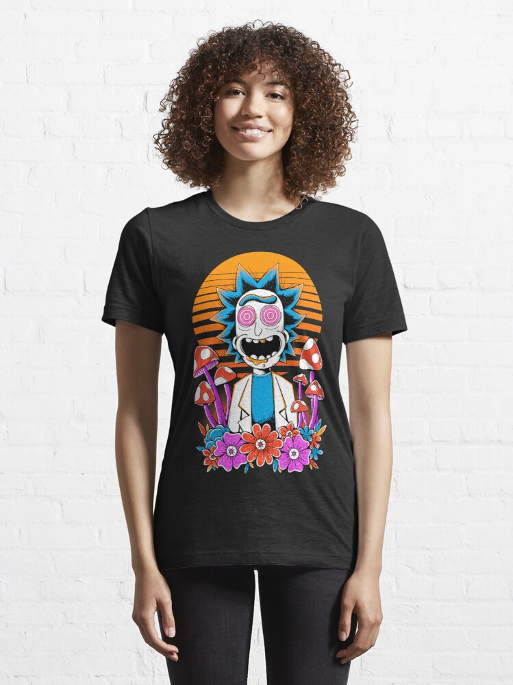 Alternate view of Rick Sanchez Trippy Scientist Essential T-Shirt