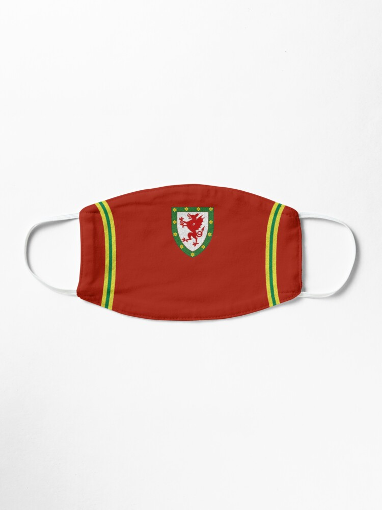 Alternate view of Mask in the style of the famous Welsh kit Mask