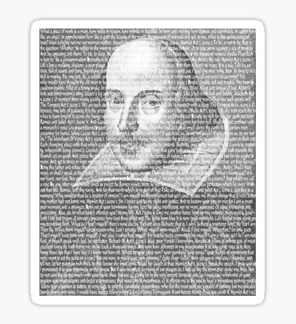 Shakespeare Quotes Sticker