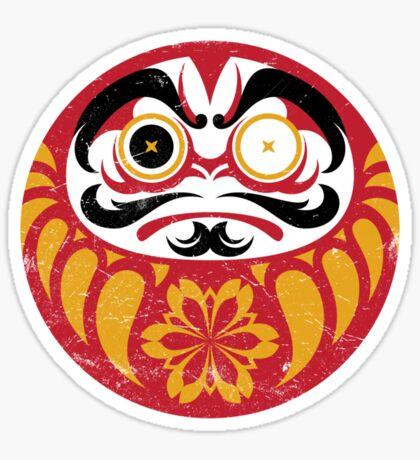 Kabuki Daruma Sticker
