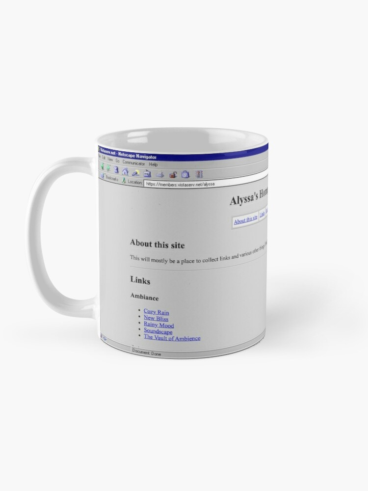 Alternate view of alyssa on Vistaserv.net Mug