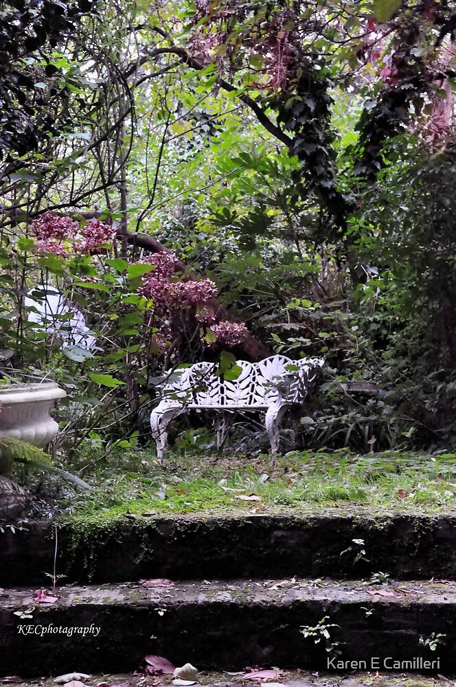 Garden Retreat by Karen E Camilleri