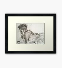 Corset Beauty Framed Print