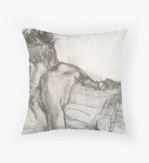 Corset Beauty Throw Pillow