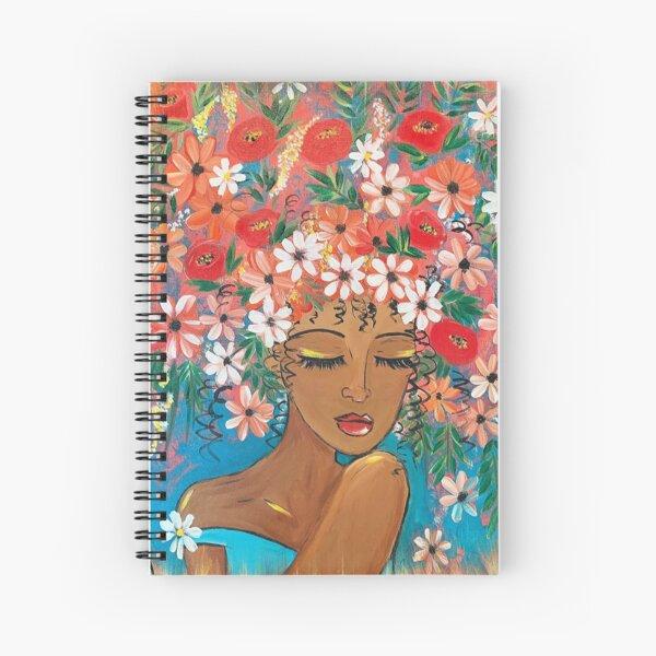 Flowers of Belle Spiral Notebook