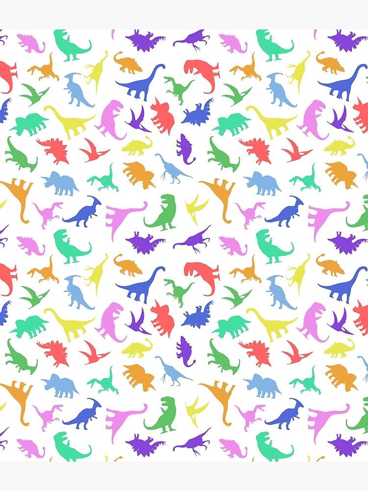 Fun Dinosaur Pattern by jezkemp