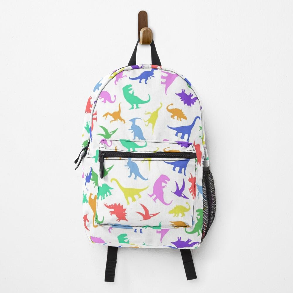 Fun Dinosaur Pattern Backpack