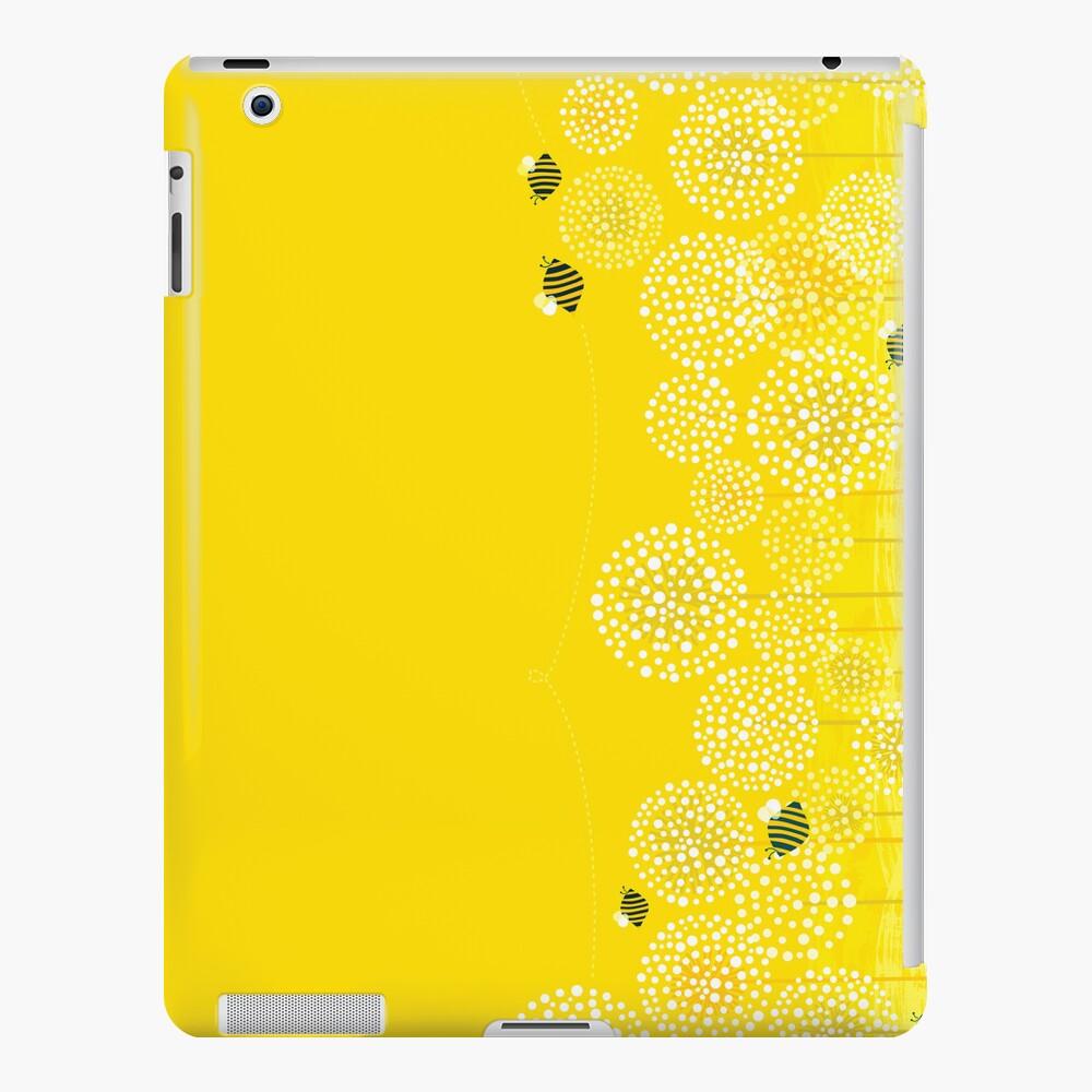 Bees over the Dandelions - Horizontal iPad Case & Skin