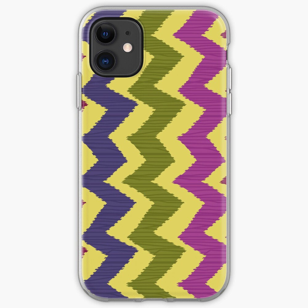 Zigzag Ikat Pattern iPhone Case & Cover