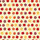 Polka Dot Ikat Pattern by rusanovska