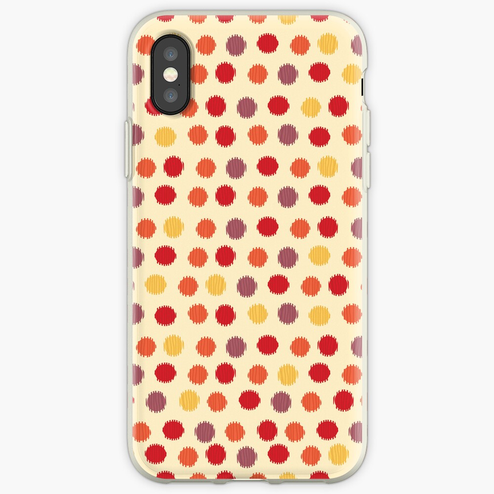 Polka Dot Ikat Pattern iPhone Case & Cover