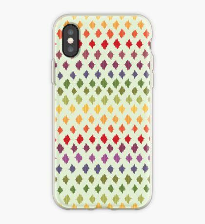 Ikat Pattern iPhone Case
