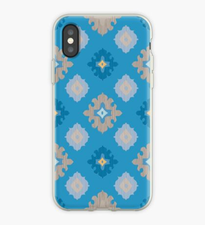 Elegant Ikat Pattern iPhone Case