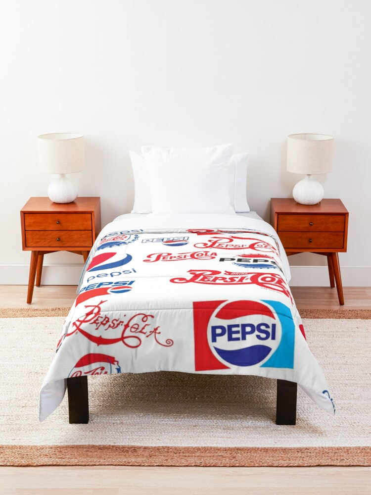 Alternate view of Pepsi Timeline Comforter