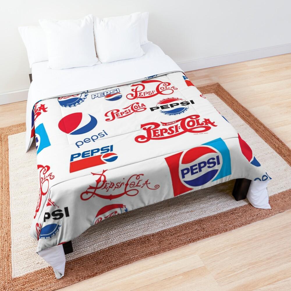 Pepsi Timeline Comforter