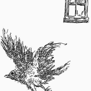 Black bird by ClamJam