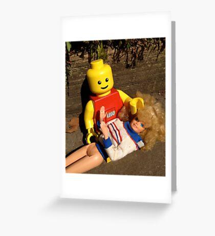 Plastic Love Greeting Card