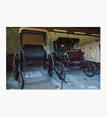 Carriages. Photographic Print