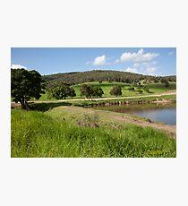 Rural Scene near Paterson, NSW Australia Photographic Print