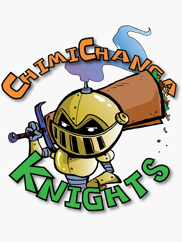 The Knight from Chimichanga Knights by CCKnights