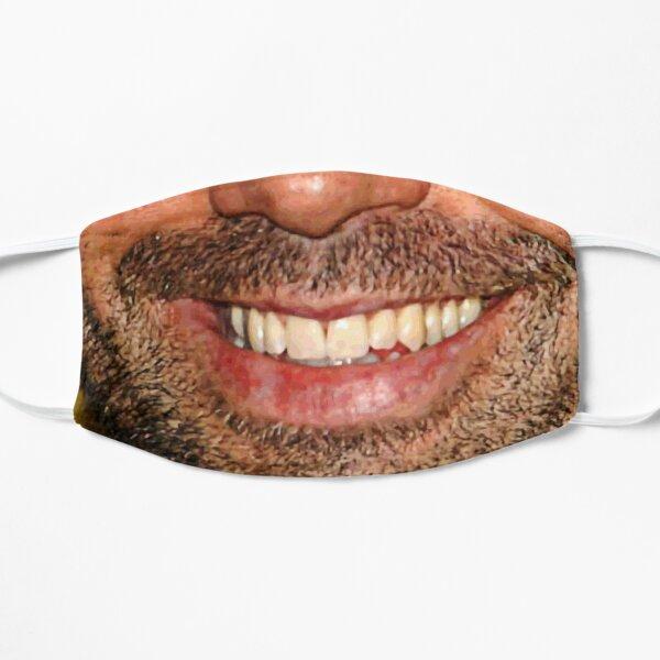 Joe Rogan Face Flat Mask