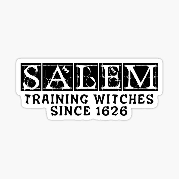 Salem school Sticker