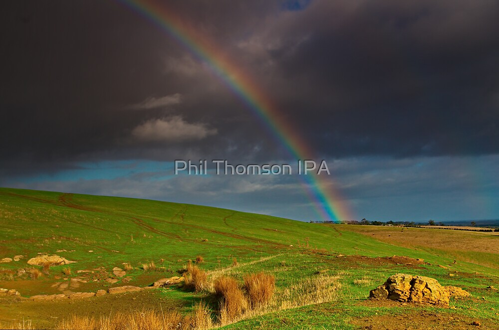 """The Rainbow And The Rock"" by Phil Thomson IPA"