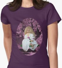 (✿◠‿◠)SWINGING WITH THOUGHTS OF YOU TEE SHIRT(✿◠‿◠) Women's Fitted T-Shirt